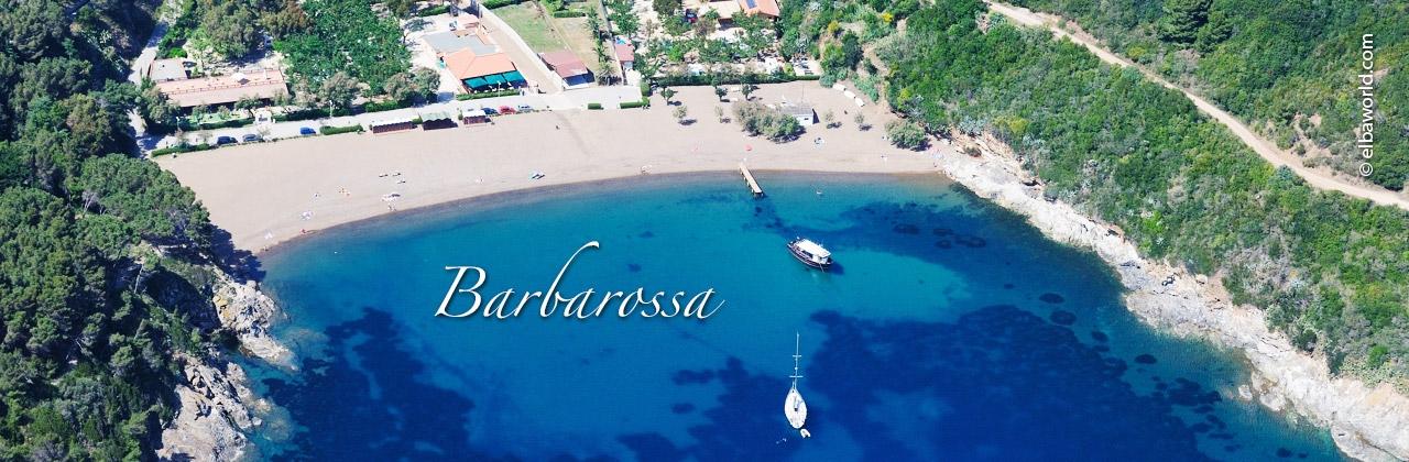 Spiaggia Di Barbarossa All Isola D Elba Nel Comune Di