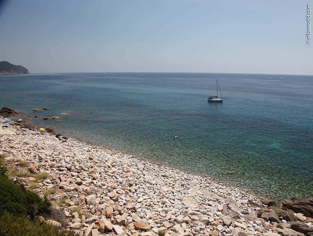 Klippe von Piscine auf der Insel Elba