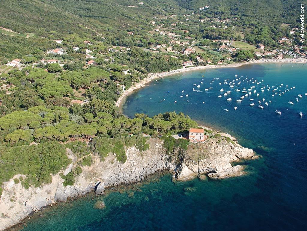Procchio Elba Karte.Procchio Ort Auf Der Insel Elba