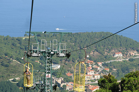 Cableway of Monte Capanne